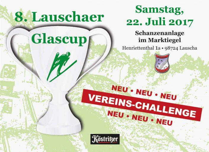 Flyer zum 8. Lauschaer Glascup