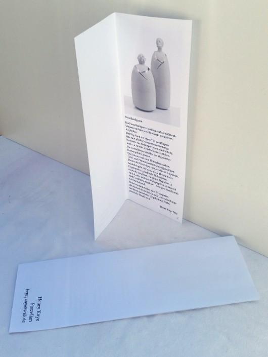 Ausstellungs-Flyer