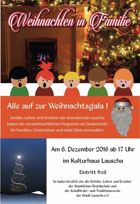 Weihnachtsgala in Lauscha